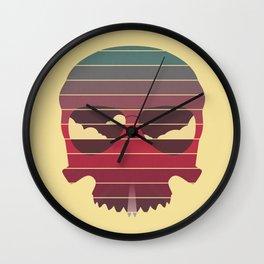 Summer Skull Wall Clock