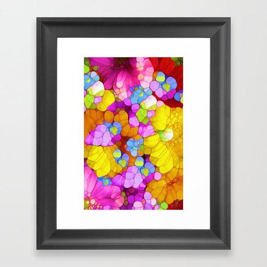 Colors of Joy Framed Art Print