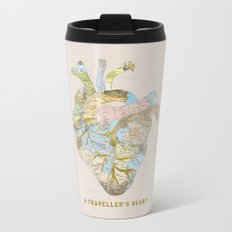 A Traveller's Heart (UK) Metal Travel Mug