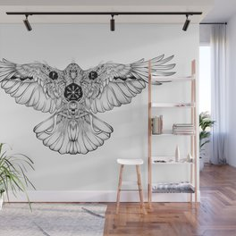 Raven of fate Wall Mural