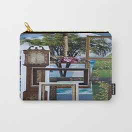 Collage - Framed Carry-All Pouch