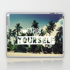 Go find yourself Laptop & iPad Skin