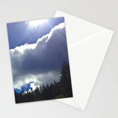Sunny Clouds Stationery Cards