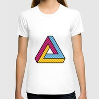 70s T-shirts featuring 70s Abstract Penrose by Makar Deku