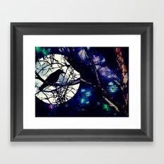 BIRD MOON 030 Framed Art Print