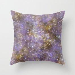 Web Nebula Throw Pillow