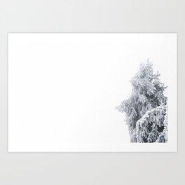 Winter Fog Art Print