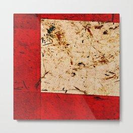 Plaster, No. 4 Metal Print