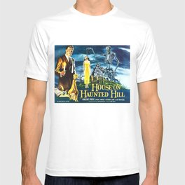 House on Haunted Hill, vintage horror movie poster T-shirt