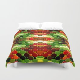 The Power coming from above... Duvet Cover
