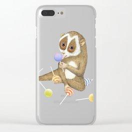 Loris Clear iPhone Case