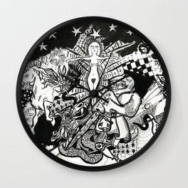 MARIAY I TEMPEST DU AMORE Wall Clock