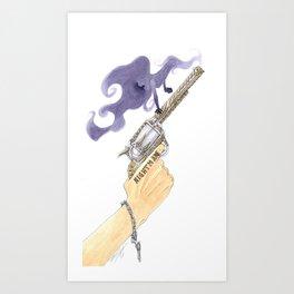 Smoking Gun Art Print