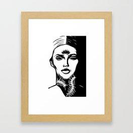 Sowing Framed Art Print