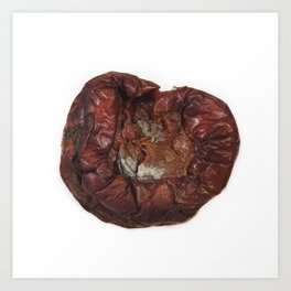 Rotting Apple Art Print