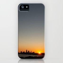Cleveland Skyline #3 iPhone Case