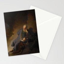 Jeremiah Lamenting the Destruction of Jerusalem Stationery Cards