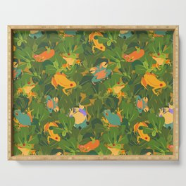 Froggy forest Serving Tray