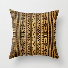 African Weave Throw Pillow