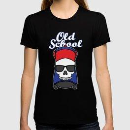 Simple But Good And Unique T-shirt Design Old School Skateboarding Skateboard Street Vintage Skate T-shirt