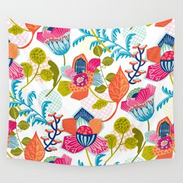 Tropical Jazz Wall Tapestry