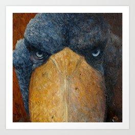 Shoebill (Balaeniceps rex) Art Print