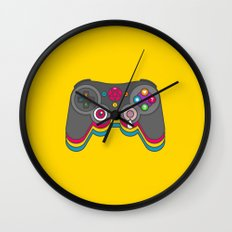 Negative Influences Wall Clock