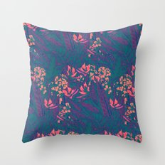 Tropical Paradise: Purple Haze Throw Pillow