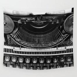 Typewriter Wall Tapestry