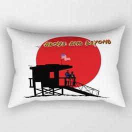 Above and Beyond Rectangular Pillow