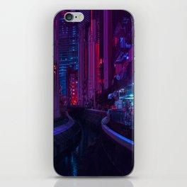 Tokyo Nights / Glitch City / Liam Wong iPhone Skin