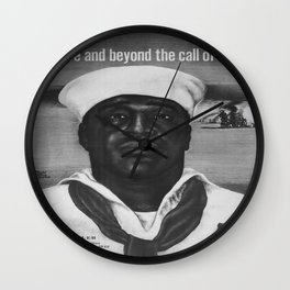 Vintage poster - Pearl Harbor Wall Clock