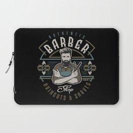 Authentic Barber Shop Laptop Sleeve