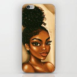 GO GINA iPhone Skin