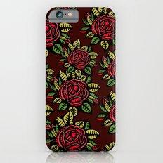 Roses Pattern iPhone 6s Slim Case