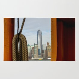 Freedom Tower through The Boat Rug
