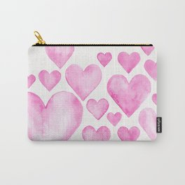 Hearts 3 Carry-All Pouch