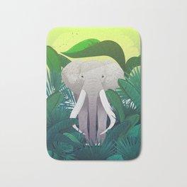 Elephant Jungle Sanctuary Bath Mat