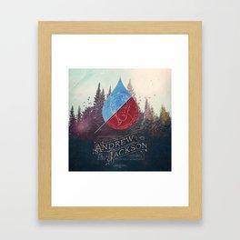 Parachute Journalists - Andrew Jackson Framed Art Print