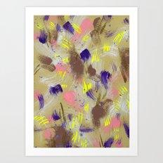 yrs/mine Art Print