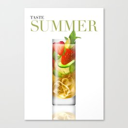 Taste Summer Canvas Print