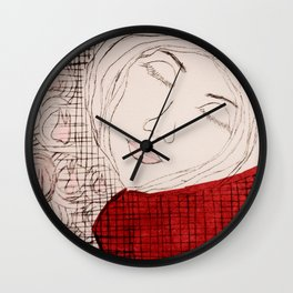 Dreaming of the Tooth Fairy Wall Clock