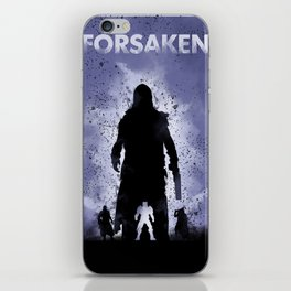 Forsaken Legend iPhone Skin