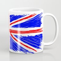 flag Mugs featuring Flag by Svetlana Sewell
