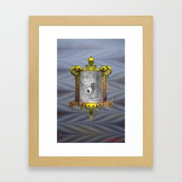 Misperception Framed Art Print