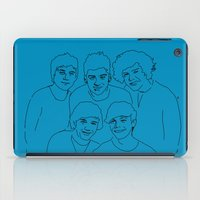 1d iPad Cases featuring 1D by Rebecca Bear