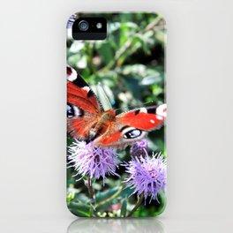 Sweet butterfly iPhone Case