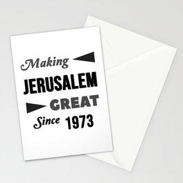 Making Jerusalem Great Since 1973 Stationery Cards