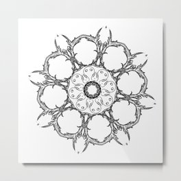 All One Within the Broken Circle Metal Print