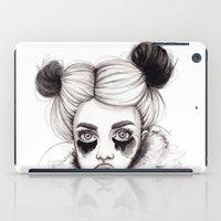 red panda iPad Cases featuring Panda by Nora Bisi